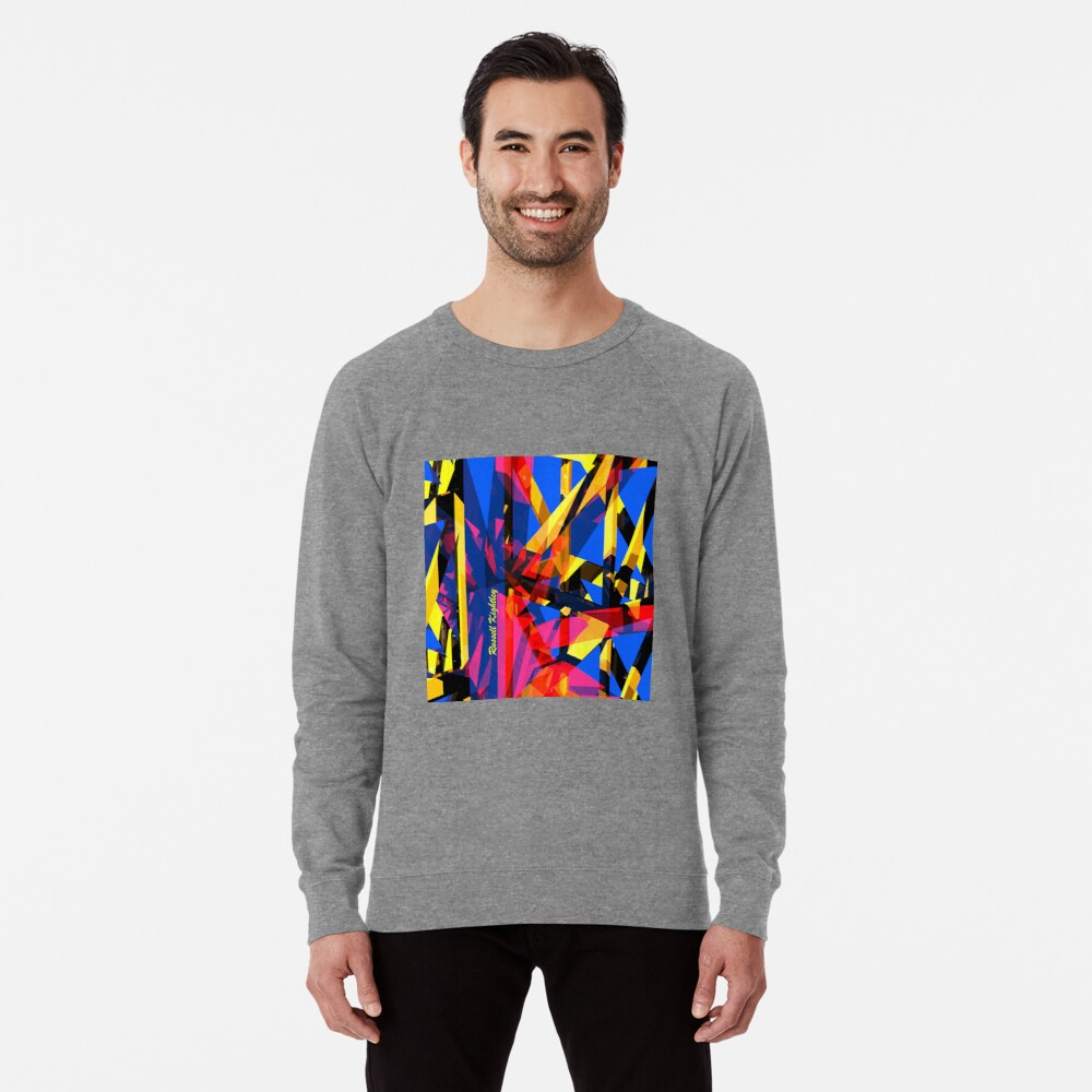 Shatter City Blue Tower Lightweight Sweatshirt