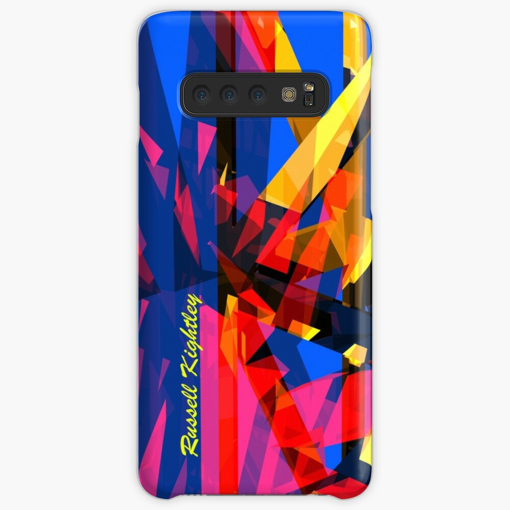 Shatter City Blue Tower Cases & Skins for Samsung Galaxy