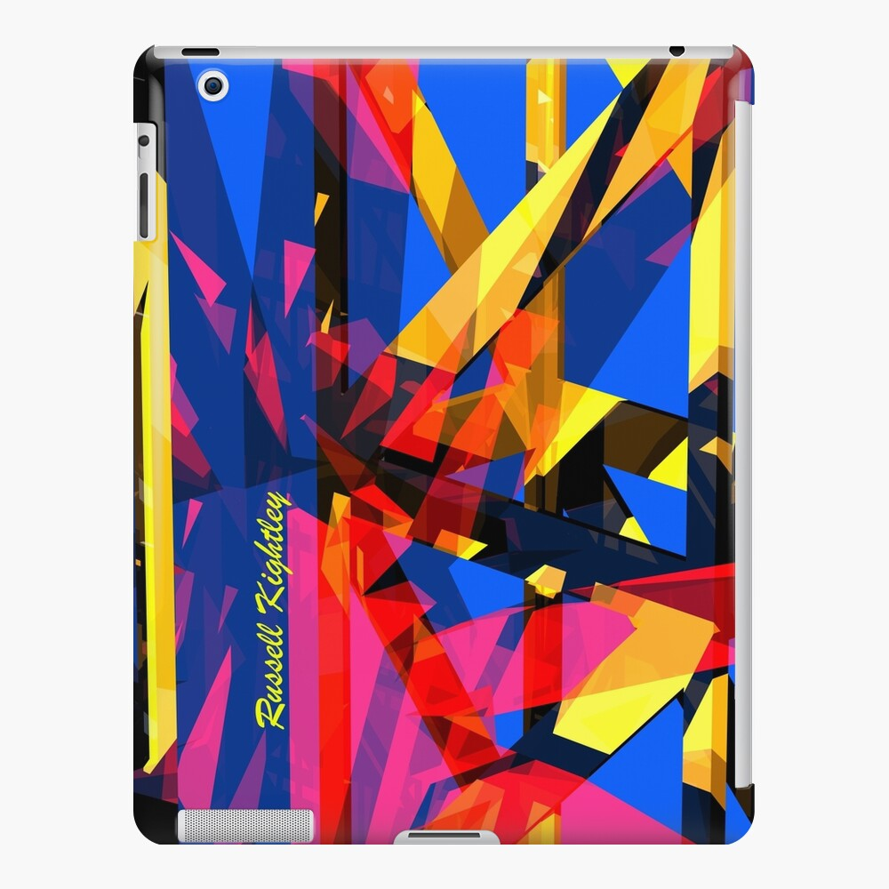 Shatter City Blue Tower iPad Case & Skin