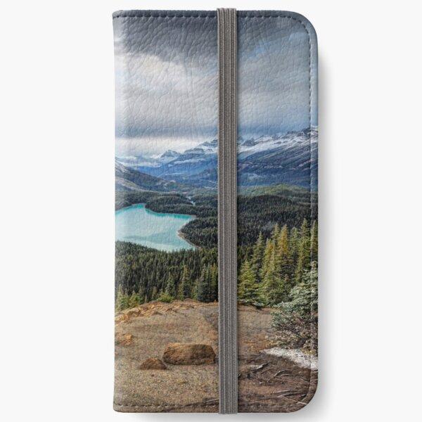 Lake Peyto iPhone Wallet