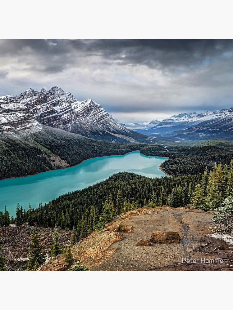Lake Peyto by PeterH