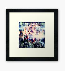 Hacker Attack Framed Print