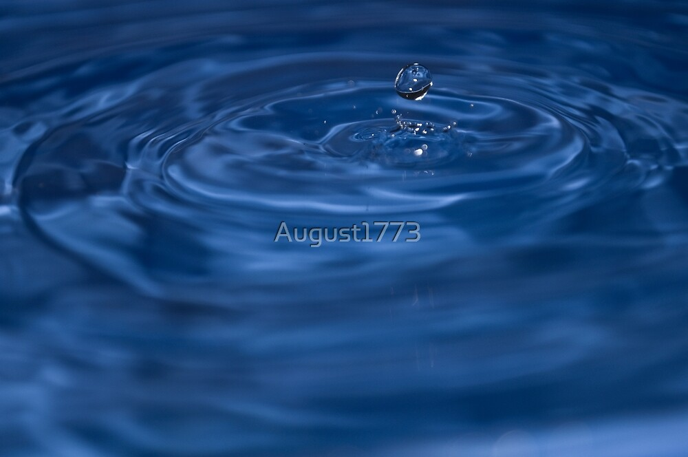 Water Drop by August1773
