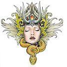 serpent goddess by Dvf1973