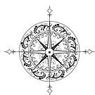 Fantasy Compass by Ashthomsonart
