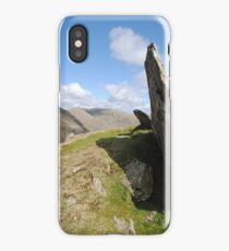 old man of coniston, coniston, lake district iPhone Case/Skin