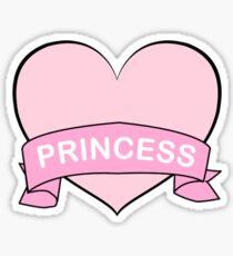 Princess Heart Sticker