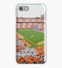 Neyland Stadium: UT vs. Florida Checkerboard iPhone Case/Skin