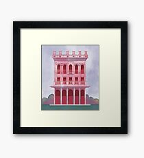 Pink Saloon Framed Print