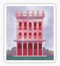Pink Saloon Sticker