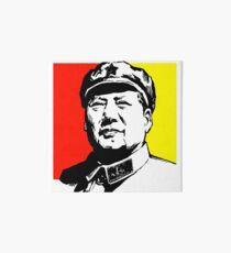 CHAIRMAN MAO Art Board Print