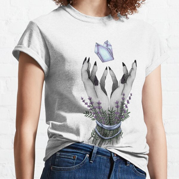 crystal hands colored Classic T-Shirt