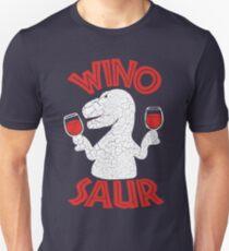 Winosaur - Wine Dinosaur T-Shirt