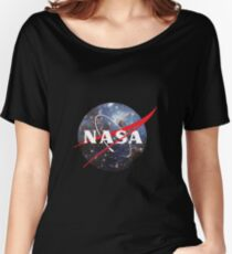nasa space Women's Relaxed Fit T-Shirt
