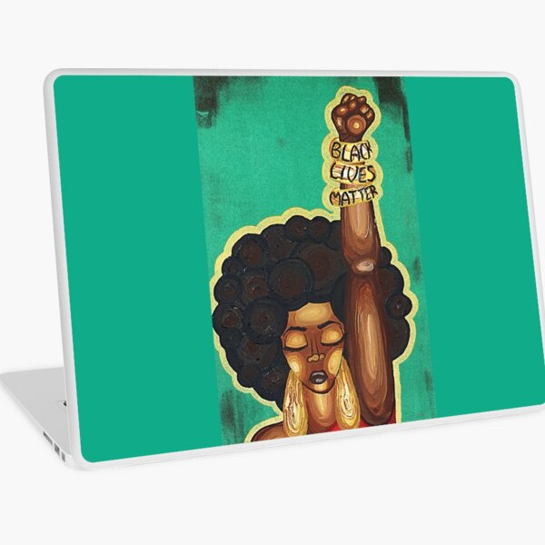 JUSTICE WANTED Laptop Skin