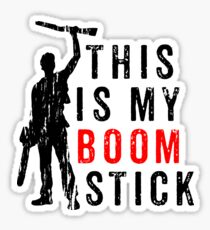This is My Boomstick Sticker