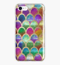 Rainbow mermaid scales iPhone Case/Skin