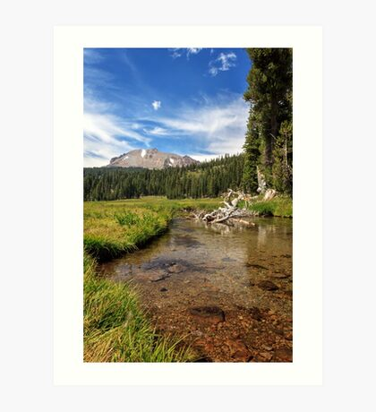 Mount Lassen From Kings Creek Art Print