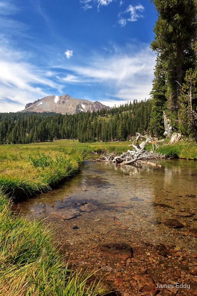 Mount Lassen From Kings Creek by James Eddy