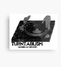 American Hip Hop - Turtablism Metal Print