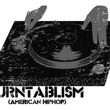 American Hip Hop - Turtablism by kassette