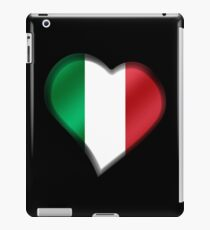 Italian Flag - Italy - Heart iPad Case/Skin
