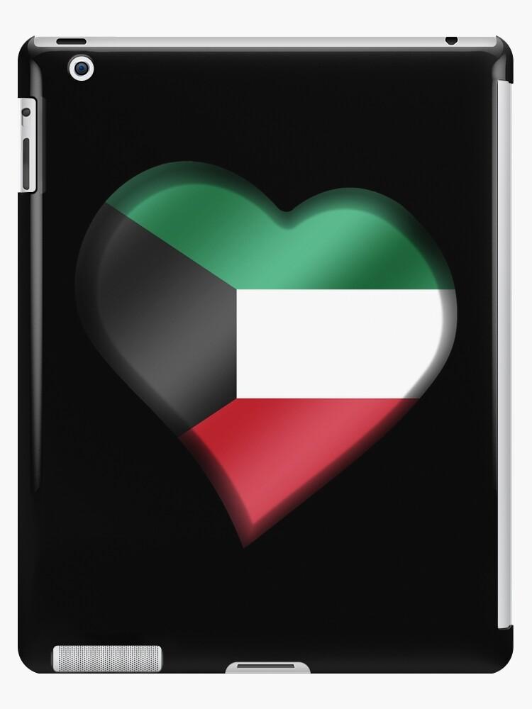 Kuwaiti Flag - Kuwait - Heart by graphix
