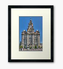 The Liver Building - Liverpool Framed Print