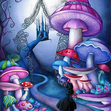 Alice Gates to Wonderland by ClearJadeStudio