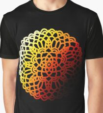 Heat of Night-Mandala Graphic T-Shirt