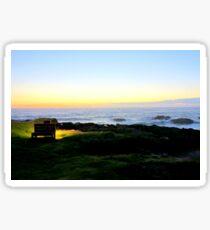 Sunset Repose...Yachats, Oregon Sticker