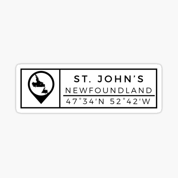 St. John's  Sticker