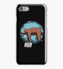 Lazy Song of Sloth iPhone Case/Skin