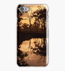 Reflections - Tongala Victoria Australia iPhone Case/Skin