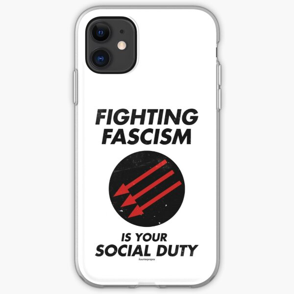 Fighting Fascism is Your Social Duty iPhone Soft Case