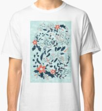 Winter flowers Classic T-Shirt