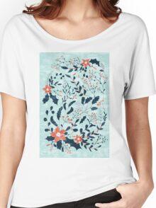 Winter flowers Women's Relaxed Fit T-Shirt