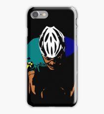 cyclist iPhone Case/Skin