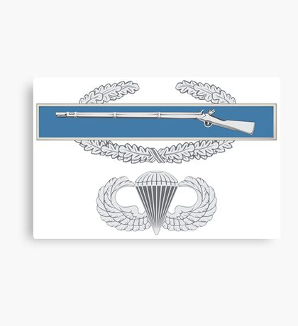 Combat Infantry Badge and Airborne Canvas Print