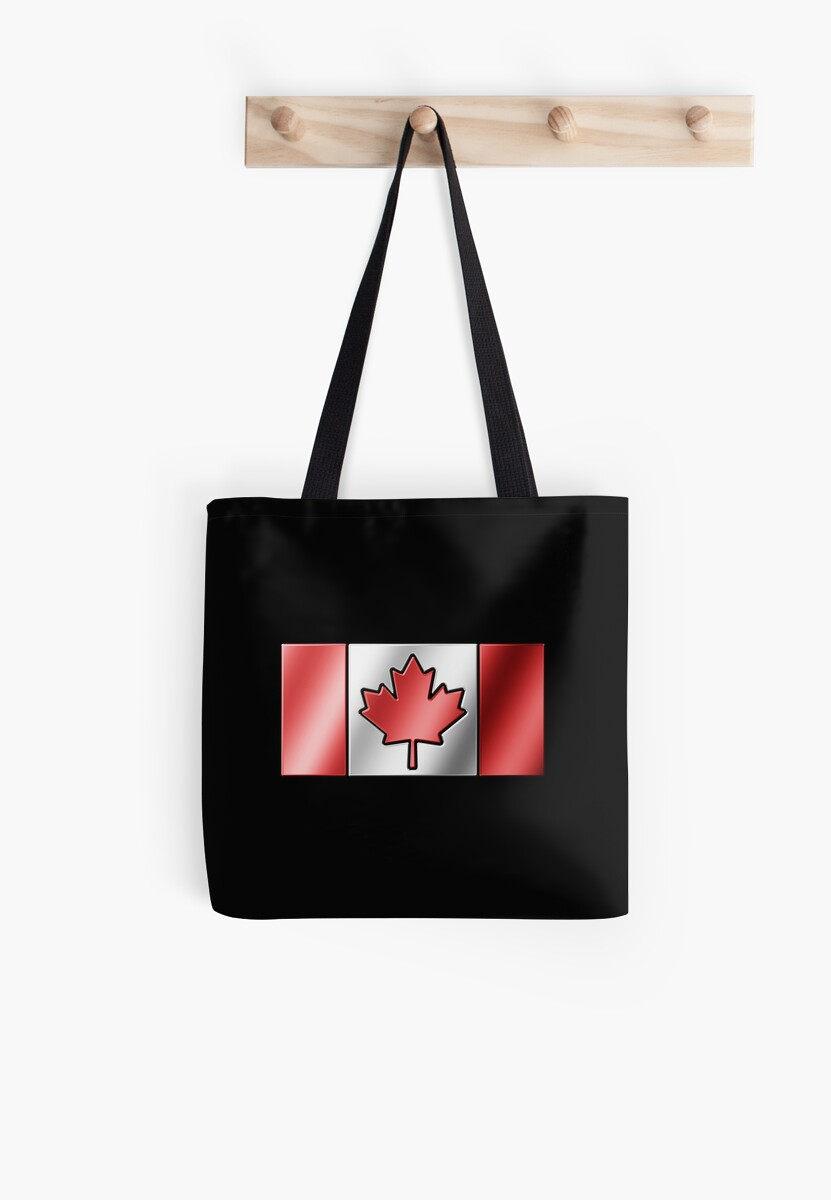 Canadian Flag 2 - Canada - Metallic by graphix