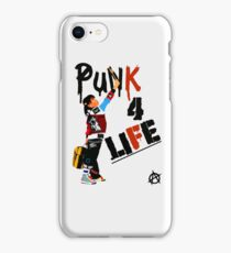 "Punky ""Punk 4 Life"" Brewster iPhone Case/Skin"