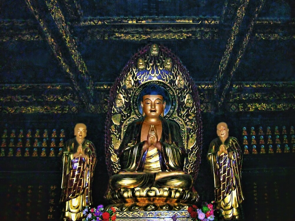——-——- BUDDA-TEMPLE OF WORSHIP CHINA PICTURE AND OR CARDS SOLD 4 GREETING CARDS TY ——-——- by ✿✿ Bonita ✿✿ ђєℓℓσ