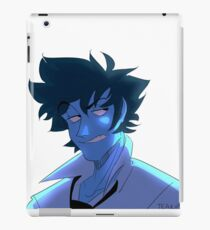Blue Spike iPad Case/Skin