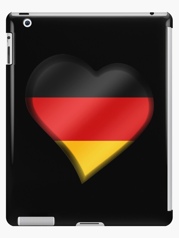 German Flag - Germany - Heart by graphix