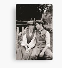 Anne and Gilbert Canvas Print