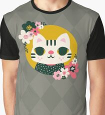 Cat in a Sweater Graphic T-Shirt