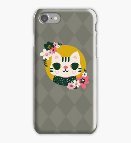 Cat in a Sweater iPhone Case/Skin
