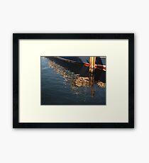 Maritime Abstract Framed Print
