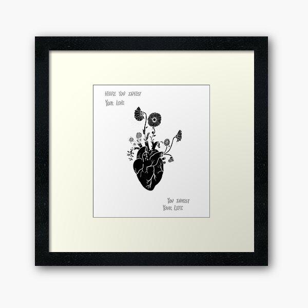 Mumford and Sons // Awake My Soul Framed Art Print