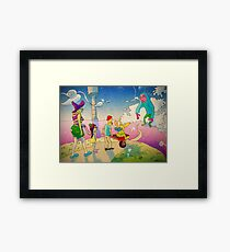 Wild Bunch Framed Print